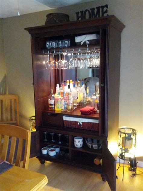 bar armoire cabinet 17 best images about for the home on pinterest pine