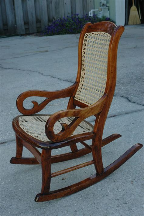 lincoln rocking chair history antique child s lincoln rocker i refinished and recaned