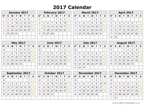 download 2017 yearly calendar excel 2017 calendar printable 2017 calendar