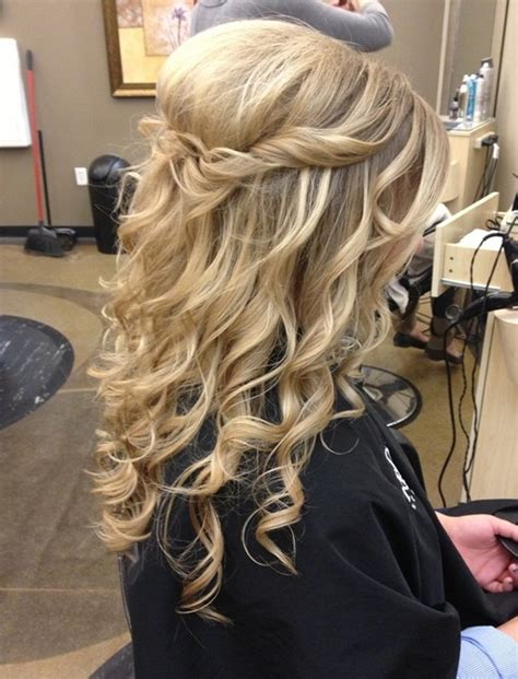 homecoming hairstyles for long hair half up 16 beautiful prom hairstyles for long hair 2015 pretty