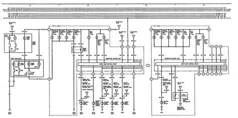 acura legend 1991 1992 wiring diagram illuminated