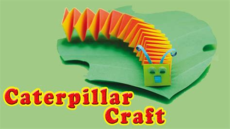 Paper Craft Projects How To Make - how to make a preschool paper caterpillar craft paper