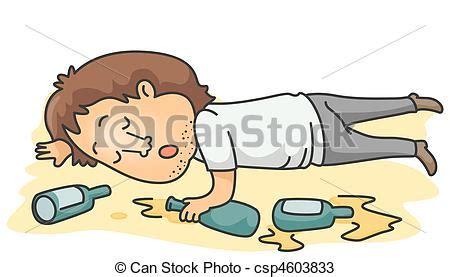 imagenes para dibujar sobre el alcoholismo dibujos de alcoh 243 lico un borracho hombre acostado