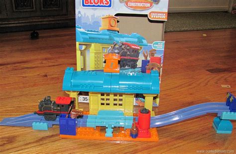 Chuggington Repair Shed by Mega Blocks Chuggington Construction Sets Review