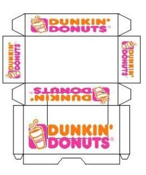 free printable elf on the shelf donut box mini printout dunkin donuts printable miniatures