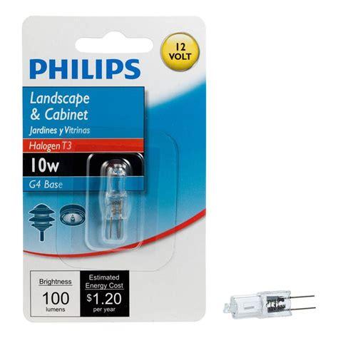Lu Philips 10 Watt philips 10 watt 12 volt halogen t3 landscape and cabinet