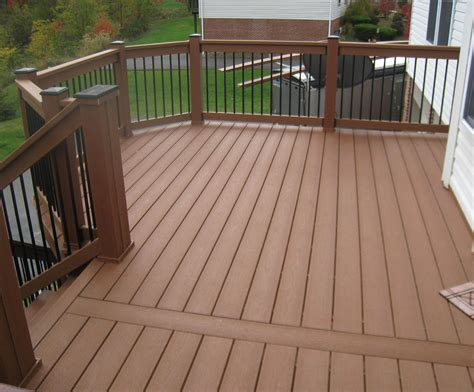decks and railings variety of railing options for decks