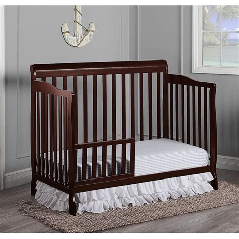 Dream On Me Ashton 5 In 1 Convertible Crib In Espresso 660 E On Me Ashton 4 In 1 Convertible Crib