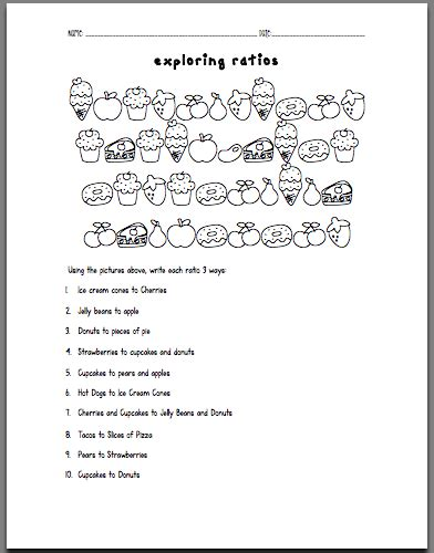 Proportional Reasoning Worksheets by Proportional Reasoning Math Worksheets Tcap 7th Grade