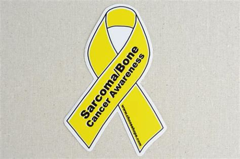 bone cancer ribbon color the gallery for gt yellow bone cancer ribbon