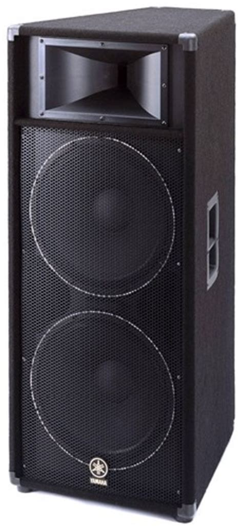 Speaker Yamaha 15 Inch yamaha s215v dual 15 inch 2 way speaker proavmax sales the professional s av resource