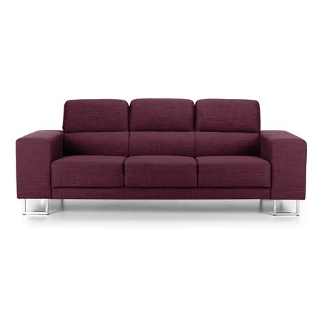 Verona Sofa by Verona 3 Seater Fabric Sofa Next Day Delivery Verona 3