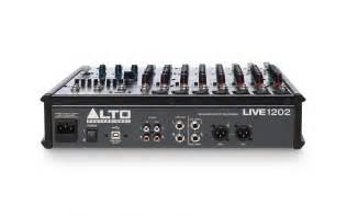 Mixer Audio Merk Alto alto professional live series gt live 1202