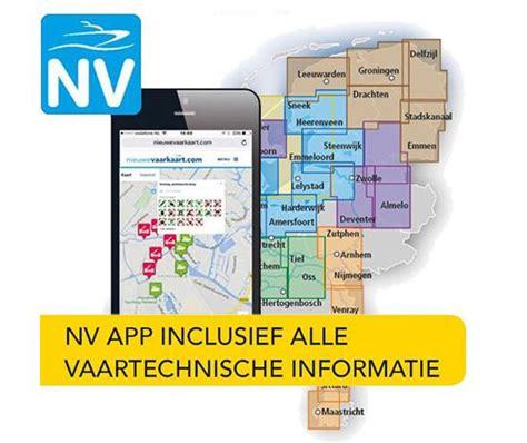 nieuwe watersporten nieuwe watersport kaarten ook op iphone en tablet