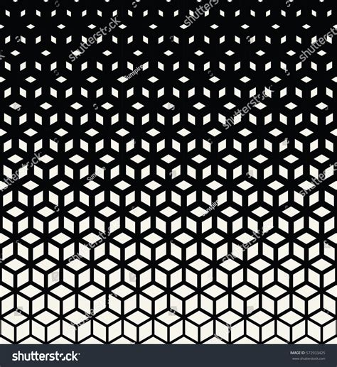 abstract sacred geometry black white grid stock vector