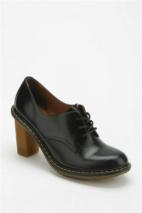 womens oxford shoes outfitters lyst outfitters dr martens jinelle heeled oxford