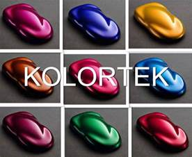 neon automotive paint colors gallery