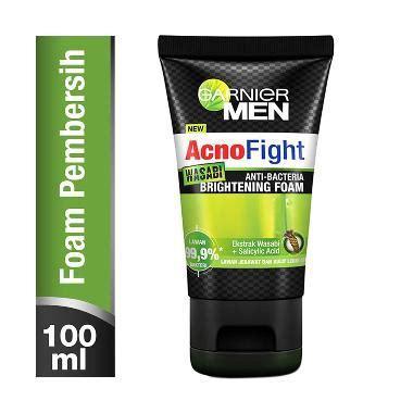 jual garnier acno fight wasabi foam sabun wajah 100