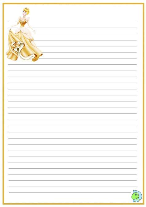 cinderella writing paper cinderella writing paper dinokids org