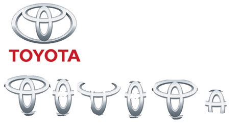 Toyota Logo Letters Toyota Logo Has All The Letters Of Toyota Combined