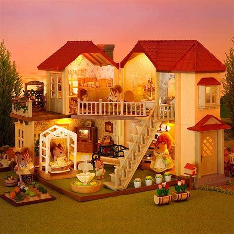 casa ciudad  luces sylvanian families sylvanian families pinterest sylvanian families