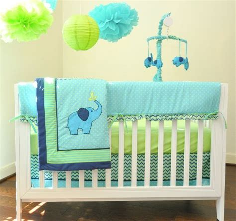 Blue And Green Crib Bedding Sets by Blue And Green Baby Bedding