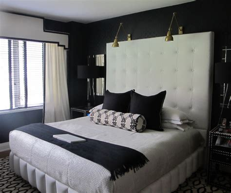 Black And White Headboard One Room Challenge Week Three A Plan Finally Driven By Decor