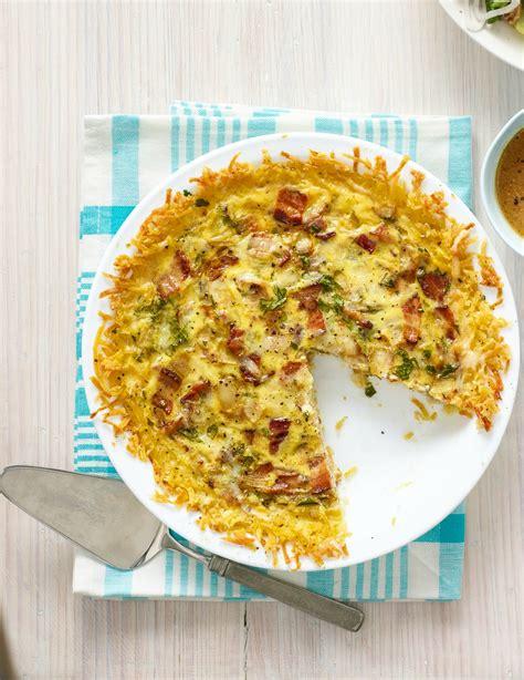 best quiche lorraine best quiche lorraine with hash brown crust recipe quiche