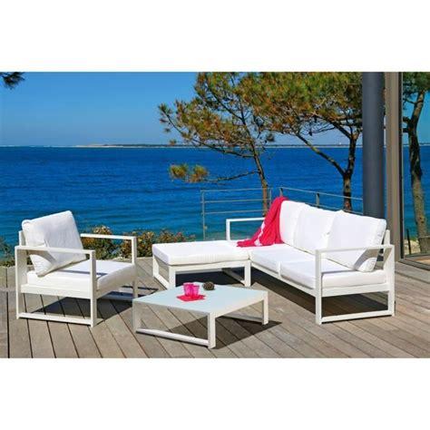 salon de jardin en aluminium 2392 lagoon salon de jardin 6 pi 232 ces alu achat vente salon