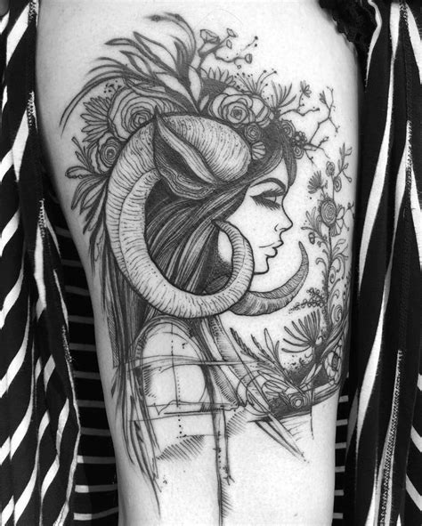 aries ram tattoo best 20 ram ideas on