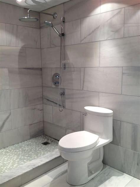 large format tiles    entire bathroom