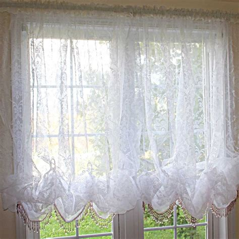 baloon curtains white chic baroque balloon curtain curtains pinterest