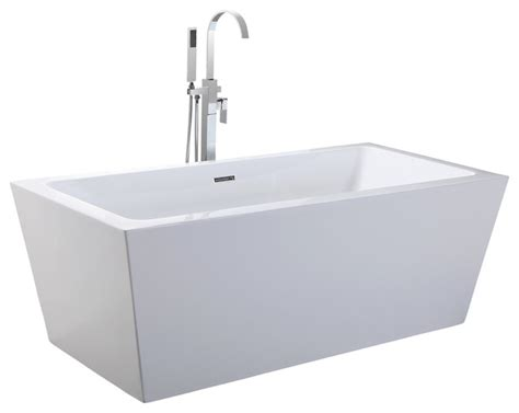 rectangle bathtub shop houzz kardiel helixbath centaur freestanding