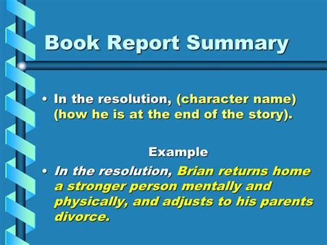 End Of The Spear Book Report by Writing A One Paragraph Summary Of A Story Ppt