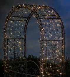 Solar Lights Patio Solar Led String Lights White Leds Arbor Tree Deck Patio Yard Fence Lighting New Ebay