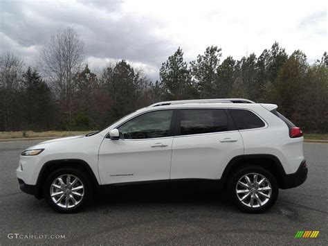 jeep cherokee white 2017 bright white jeep cherokee limited 120106638 photo