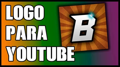 tutorial logo youtube como hacer un logo para tu canal de youtube tutorial