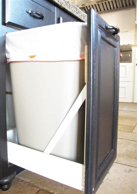 kitchen trash can cabinet door 280 best images about kitchen on stone