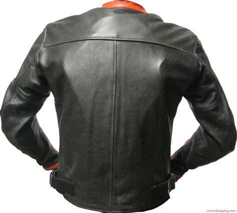 Handmade Leather Motorcycle Jackets - genuine custom made leather motorcycle jacket for stylish