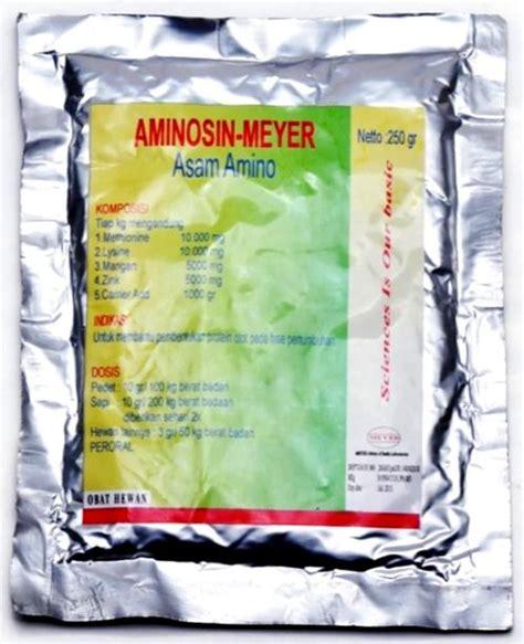 Ovalumon By Obat Hewan aminosin obat hewan makmur