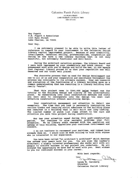 Letter Of Recommendation For Librarian Recommendation Letter Help Houston Animate Us