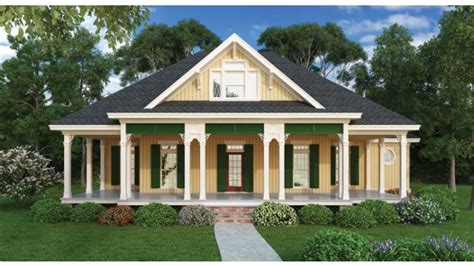 cottage house plans one country cottage house plans with porches cottage house