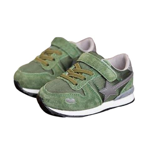Sepatu Sekolah Anak Kets Sport Adidas jual sport sepatu kets anak laki laki hijau army harga kualitas terjamin