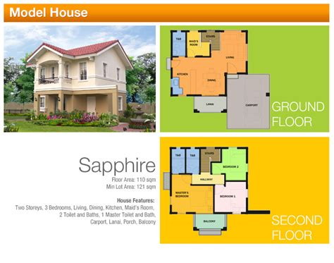 FLOOR PLANS   Camella Homes Tarlac
