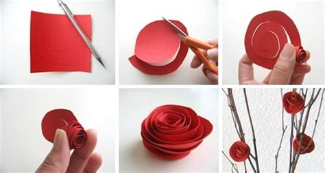 How To Make Construction Paper Roses - construction paper roses i m crafty