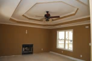 Ceiling Colours For Living Room Step Tray Ceiling The Color Of The Living Room Is Benjamin Taupe New