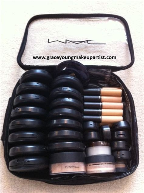 Makeup Kit Mac grace my freelance makeup kit mac zuca traincase