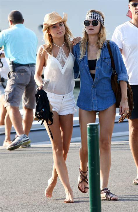 St Style kimberley garner summer style out in tropez july 2015