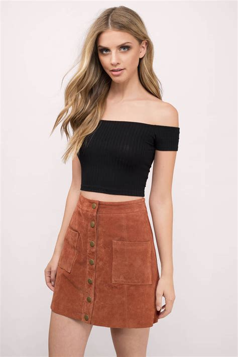black best black crop top black top shoulder top 32 00