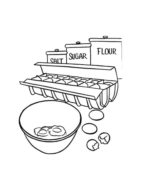 bake cake coloring page coloring pages cakes coloring home